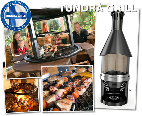 Tundra Grill, grill pour kota Grill