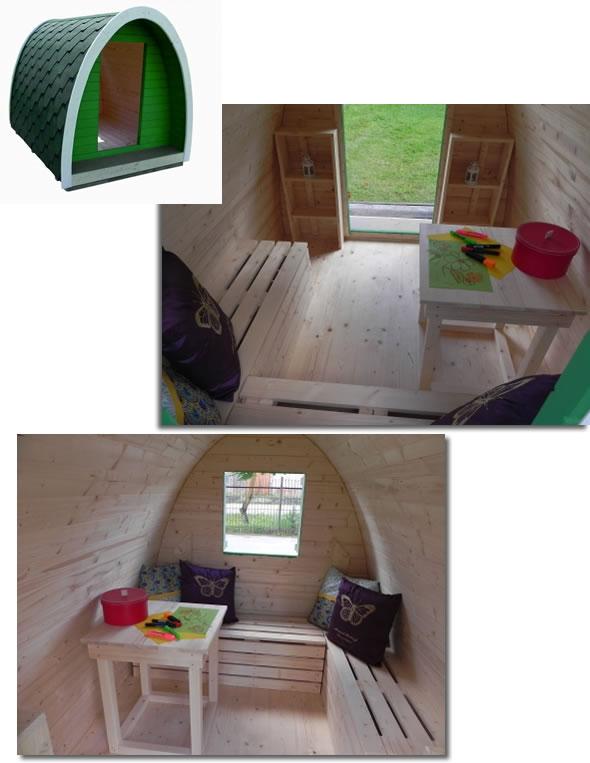 Camping Pod Enfant