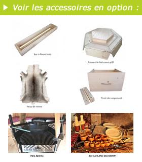 Accessoires Kota Grill finlandais