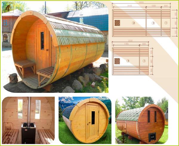 sauna tonneau sauna tonneau de haute qualit les moins. Black Bedroom Furniture Sets. Home Design Ideas