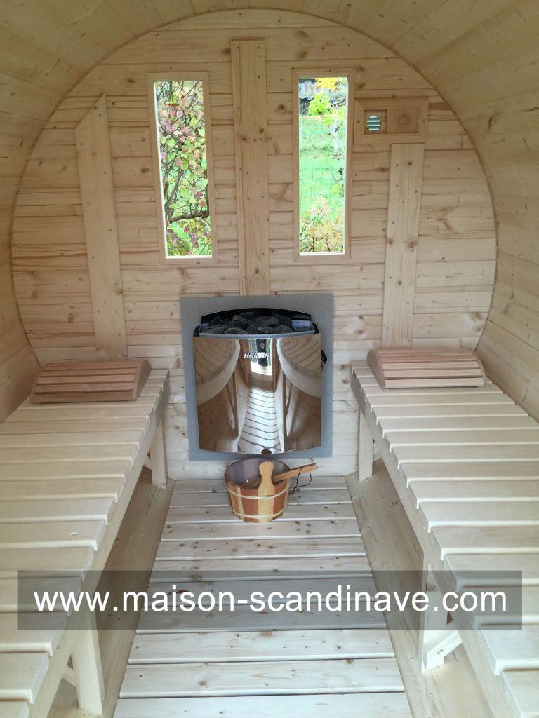 Sauna Tonneau Besancon, Doubs, Franche Comté