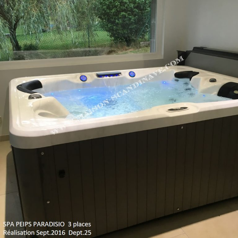 spa peips 3 places paradisio