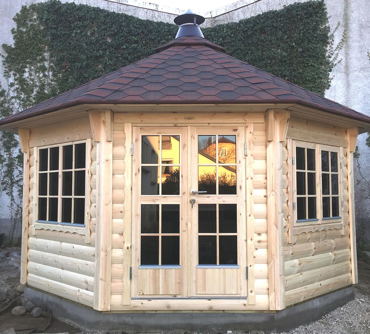 Kota Pavillon 12 m² pas cher de qualité. Livré et installé en France ...